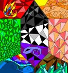 Dragon Crystal Window