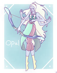 Opal by RedMoonDragon