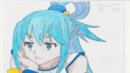 Aqua - Kono Subarashii Sekai ni Shukufuku wo! by ocelot232