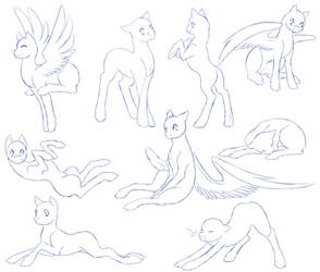 Pony Poses Pack 2 - F2U