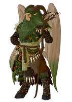 Commission - The Druid