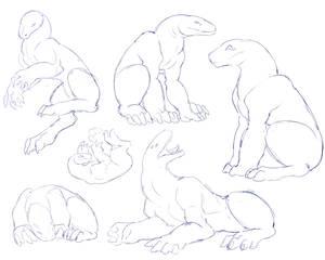 Creature Sketches - F2U