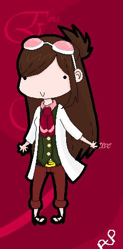 Ema Skye, Scientist Detective by AkatsukiPie