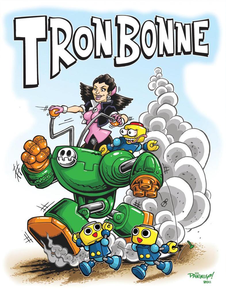 Tron Bonne by paigey