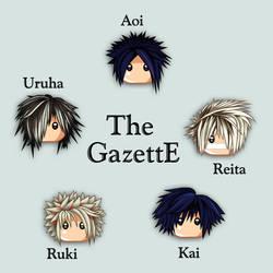 Anicon Series - The gazettE by Klamsi