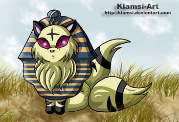 TOTD - egyptian Kirara by Klamsi
