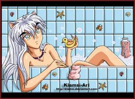 Bubble bath by Klamsi