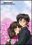 Sango and Miroku cuteness