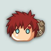 Anime Icons - Gaara by Klamsi