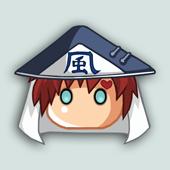 Anime Icons - Gaara Kazekage by Klamsi