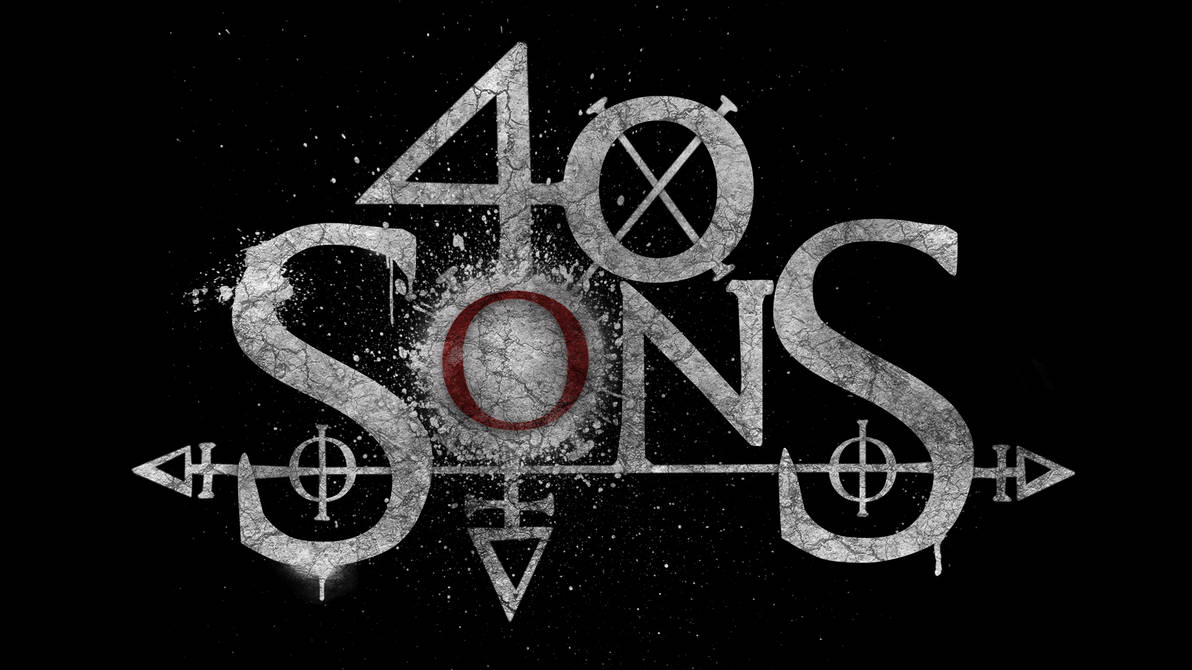 40 Sons (Music Band) Logo Design by Azazelfire on DeviantArt