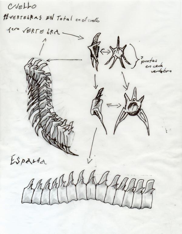 Dragon Creation 2 - Vertebrae