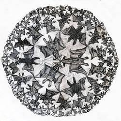 Escher's Angel and Demons