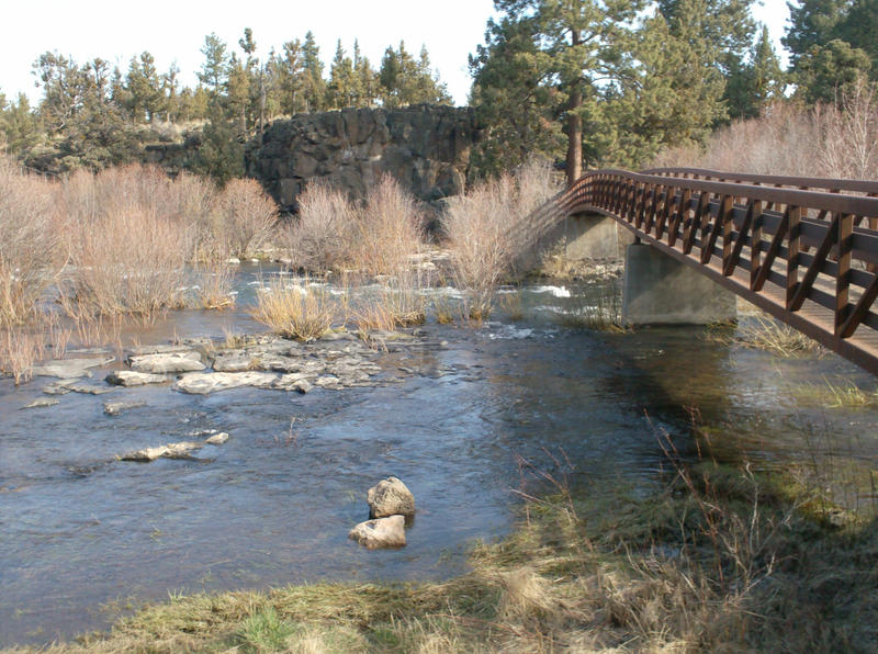Bridge Over River by Natureboy3
