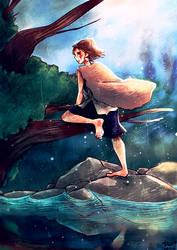 Princess Mononoke by FraeuleinBaer