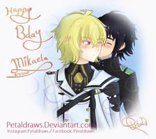 Happy Bday my baby-boo by Petaldraws