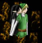 Link x Dark Link