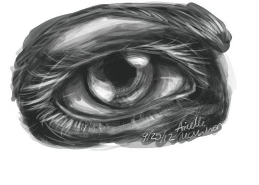 Practice eye by Cloverel