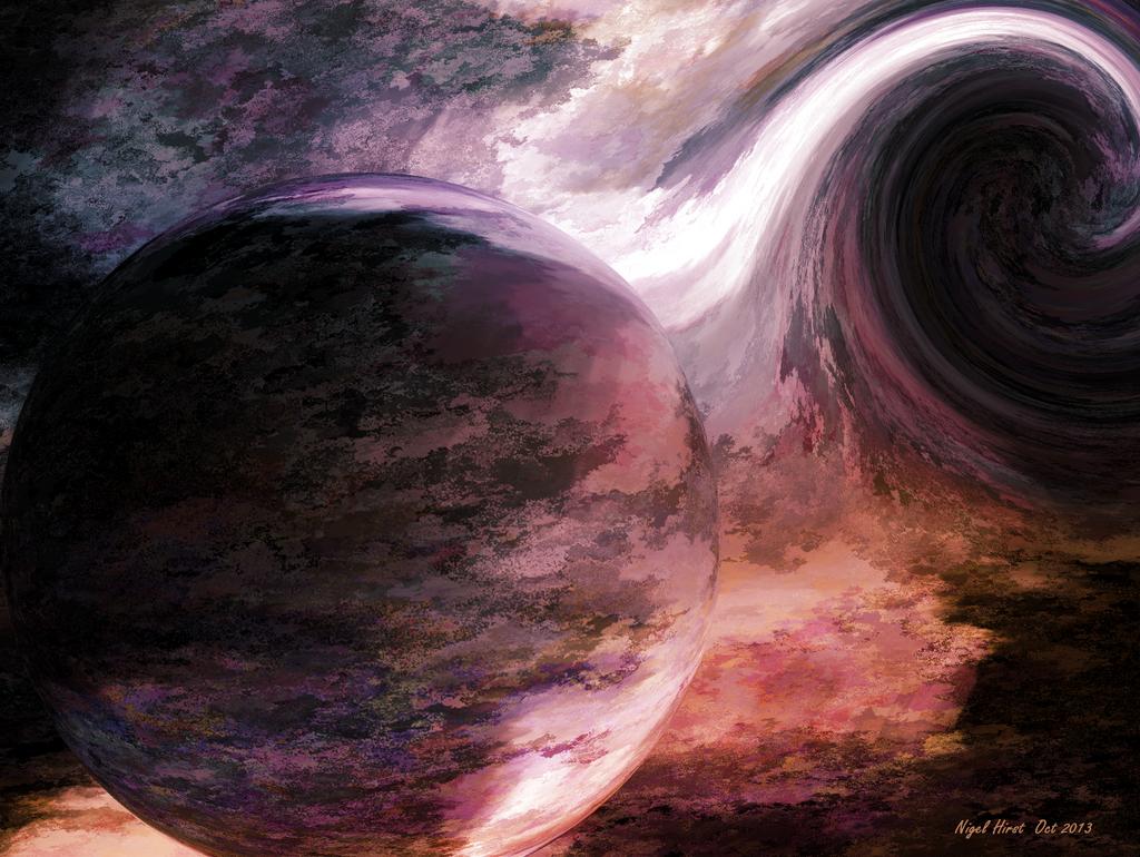 Black Hole by Nigel-Hirst