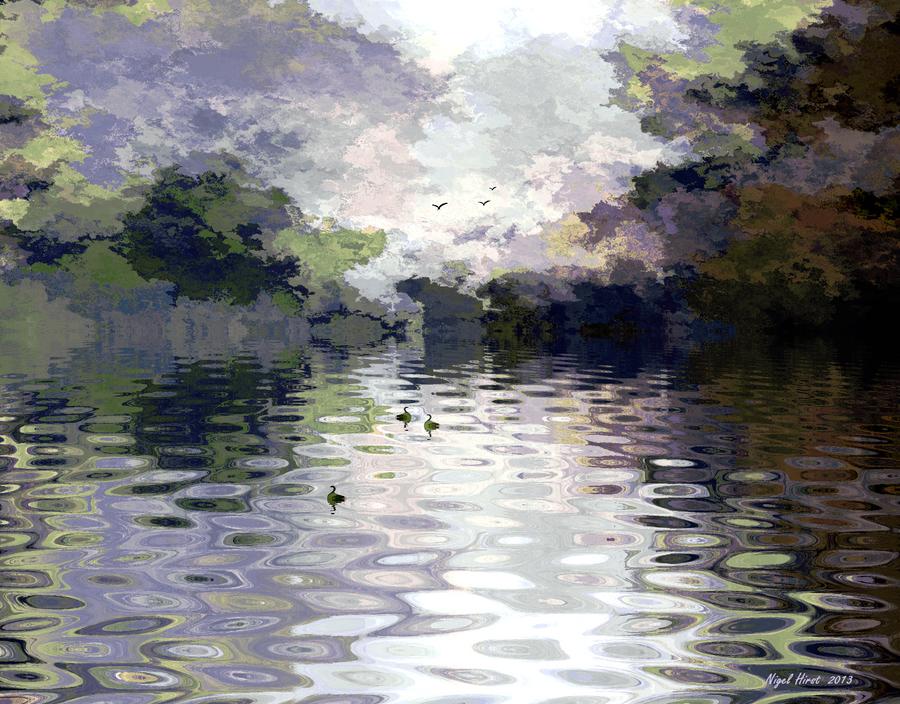 Ashenbank Pond by Nigel-Hirst