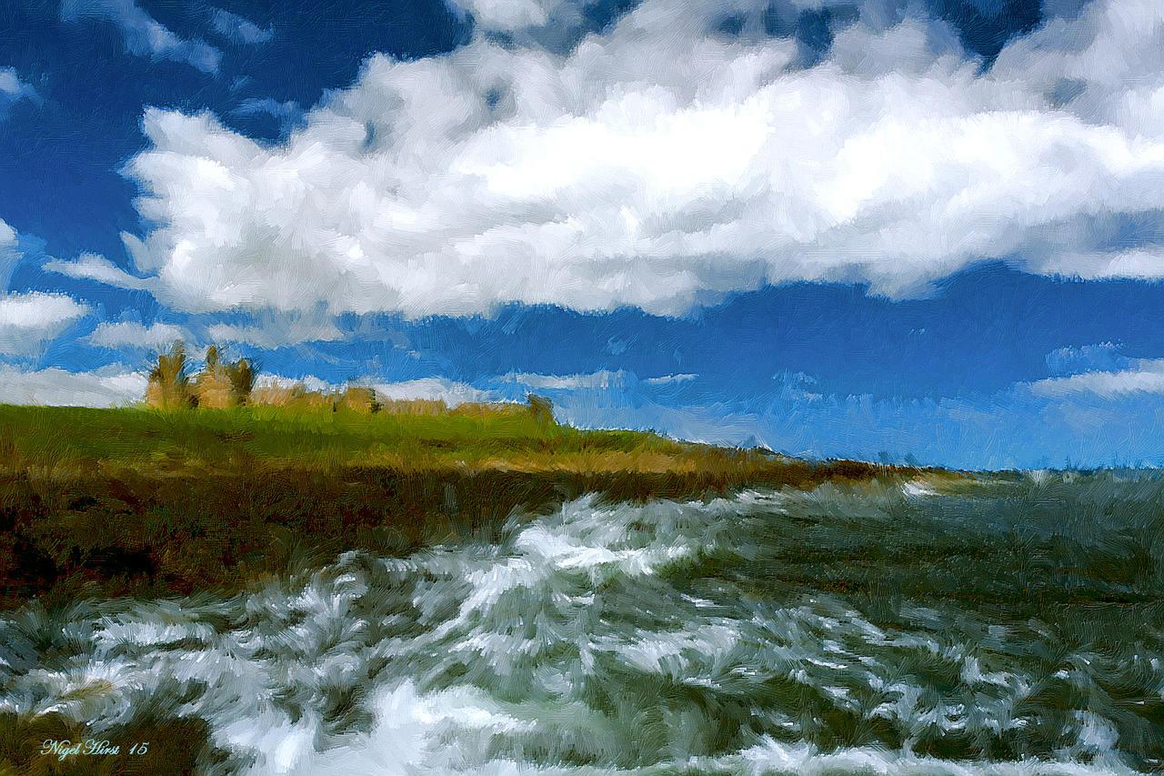 Dunstanburgh Castle  by Nigel-Hirst