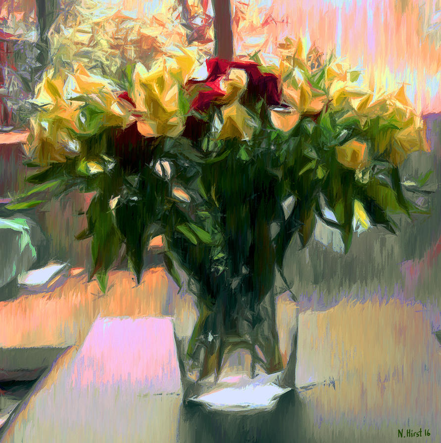 The School Leaving Bouquet by Nigel-Hirst