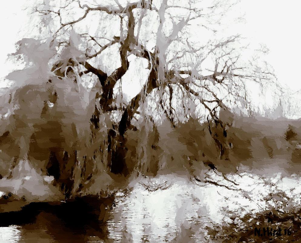 Broadditch Pond Impromptu 1 by Nigel-Hirst