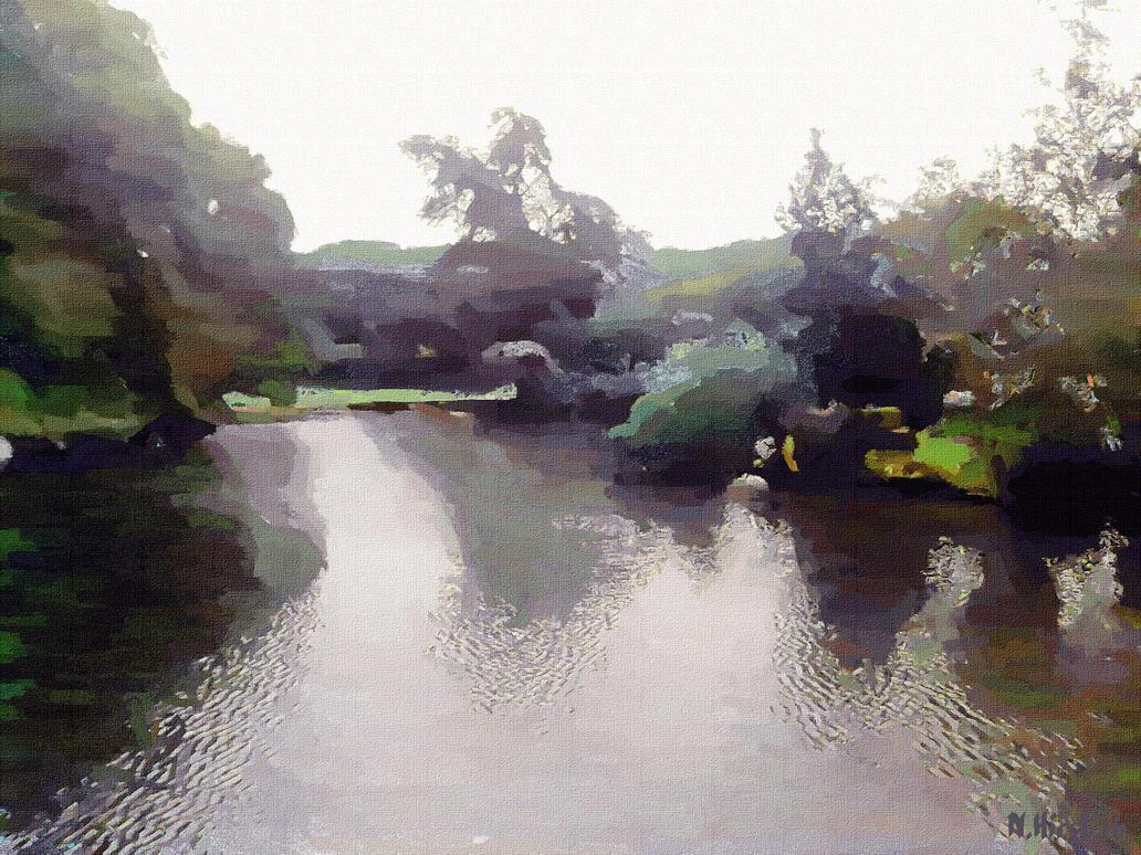 Broadditch Pond : 11th June 16 by Nigel-Hirst
