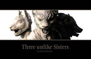 Three unlike Sisters - Cover