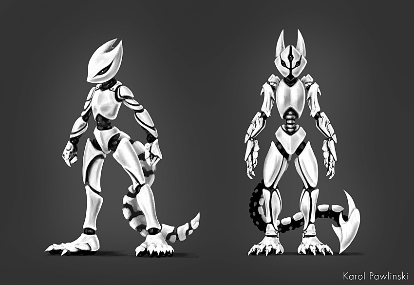 Deviantart Robot Animals: Robot Squirrel Concept 05 By KP-ShadowSquirrel On DeviantArt