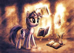 Twilight reading three books