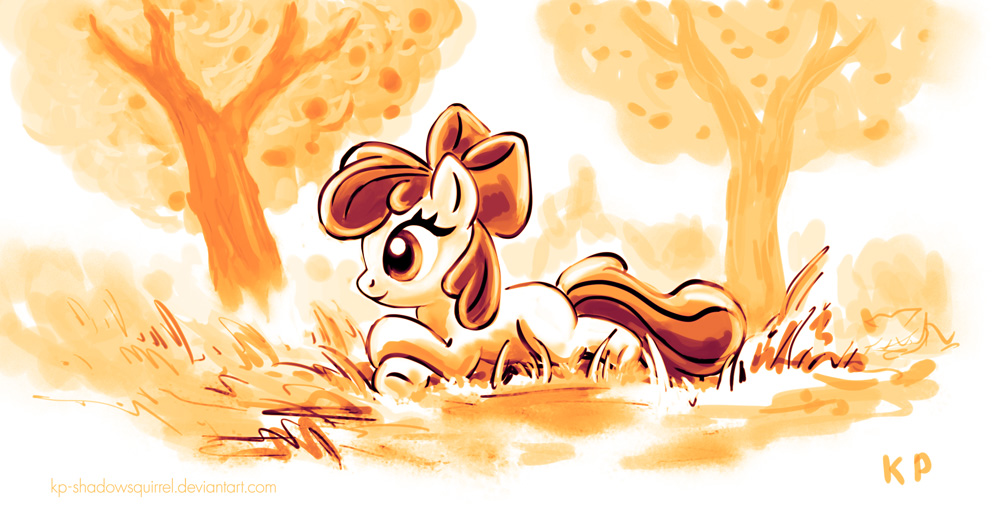 Apple Bloom by KP-ShadowSquirrel