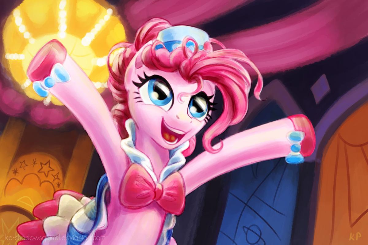 Pinkie Pie Gala Portrait by KP-ShadowSquirrel