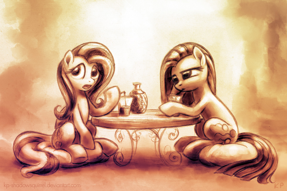 Teaparty by KP-ShadowSquirrel