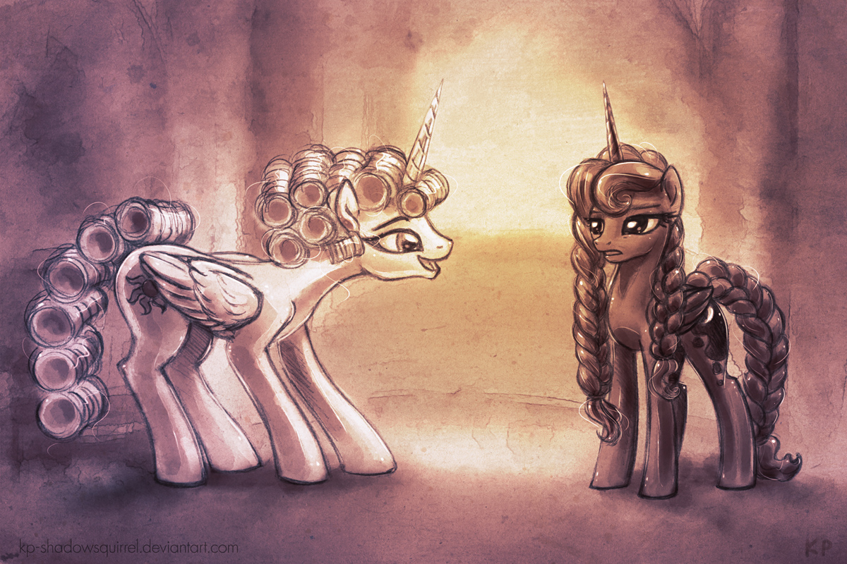 Royal Makeover by KP-ShadowSquirrel