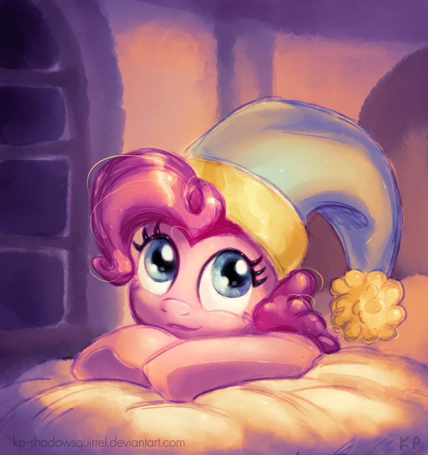 Good Night Pinkie Pie by KP-ShadowSquirrel
