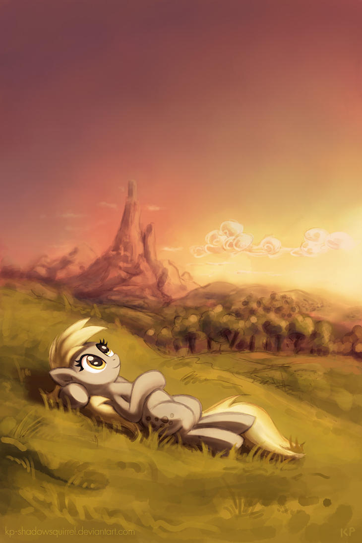 Summer Evening by KP-ShadowSquirrel