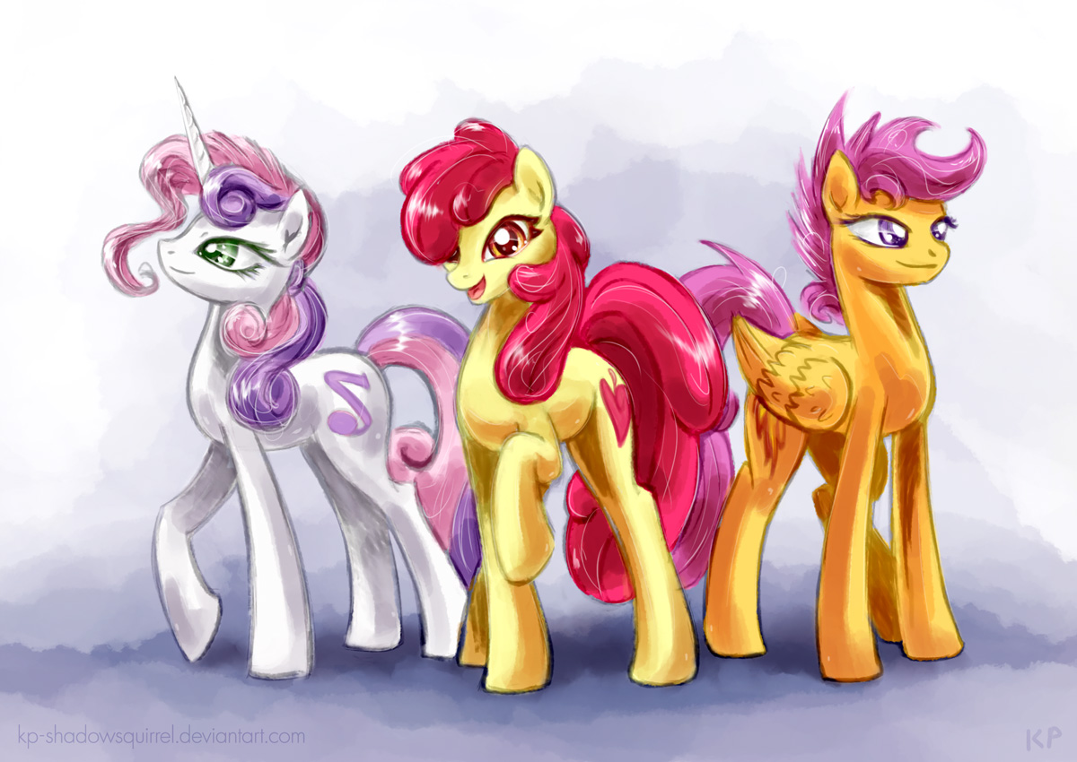 Cutie Mark Crusaders Z by KP-ShadowSquirrel