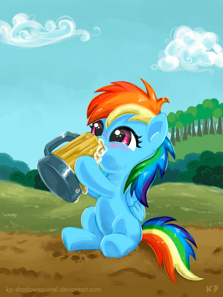 When I Was Just A Filly...