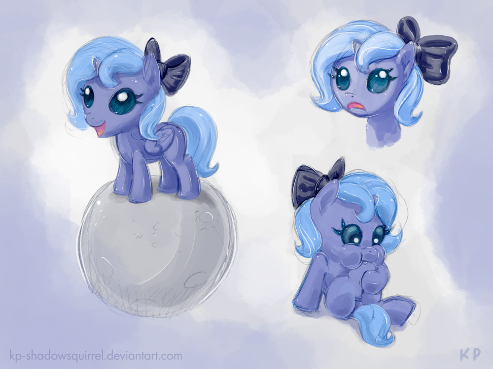 Baby Luna by KP-ShadowSquirrel