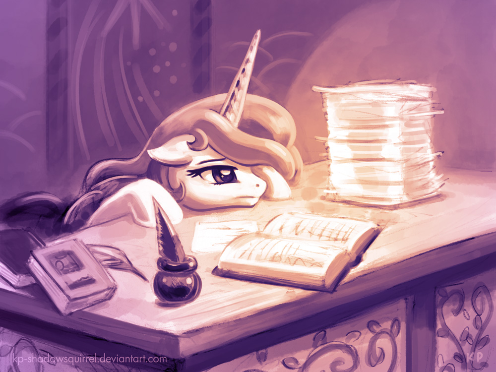 Paperwork by KP-ShadowSquirrel