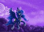Luna on Patrol