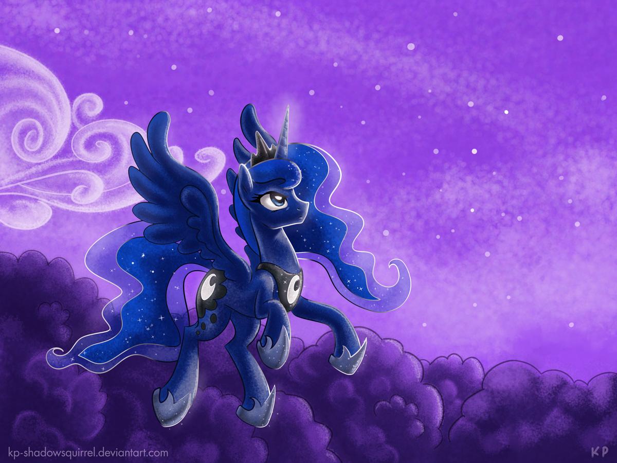 Luna on Patrol by KP-ShadowSquirrel