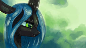 Chrysalis Portrait by KP-ShadowSquirrel