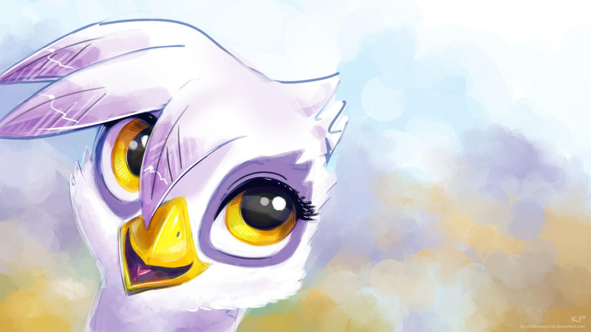 Gilda Portrait by KP-ShadowSquirrel