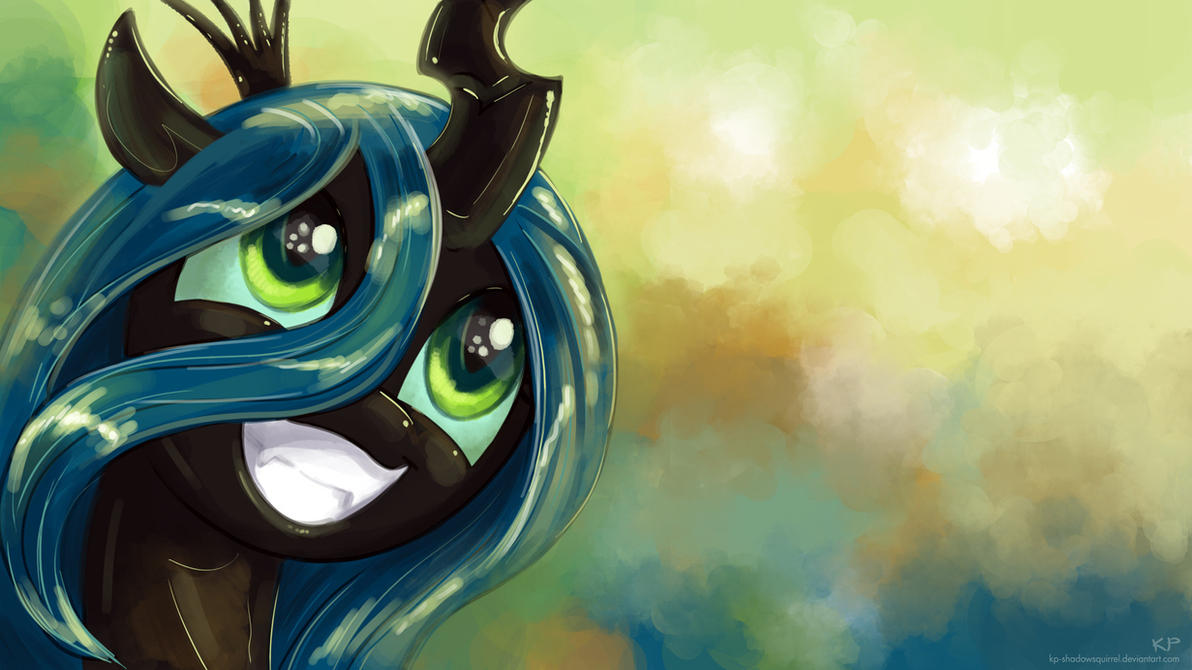 Chrysalis Portrait 2 by KP-ShadowSquirrel