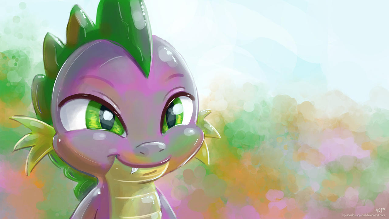Spike Portrait 2 by KP-ShadowSquirrel