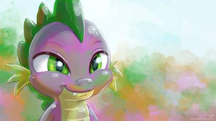 Spike Portrait 2 by KP-ShadowSquirrel