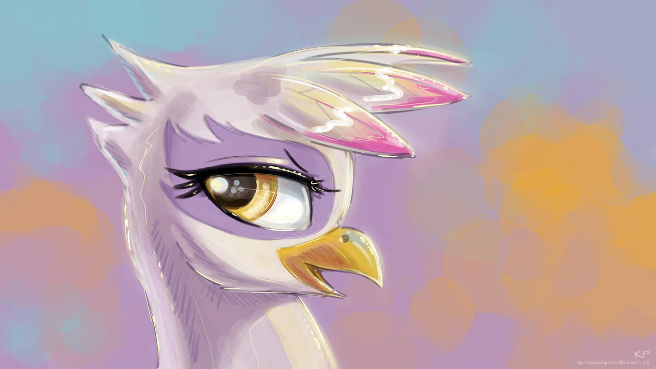 Gilda Portrait 4 by KP-ShadowSquirrel