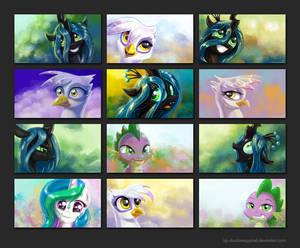 MLP:FIM Portrait Wallpapers